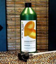Matrix Biolage Cleansing Conditioner for Damaged Hair 33.8 oz Liter w PUMP