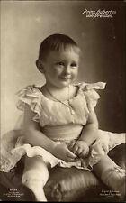 1911 Stempel Bad Reichenhall auf alter Echtfoto-AK Prinz Hubertus von Preussen