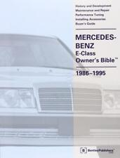 MERCEDES OWNERS BIBLE E CLASS W124 300D 300TD 300 D TD TURBO Manual Handbook