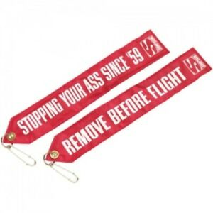 SIMPSON SAFETY Chute Tag Remove Before Flight P/N - CHUTFLAG