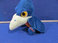 Suki Blue orange Pterodactyl Dino Plush Soft Toy 25cm approx ExC