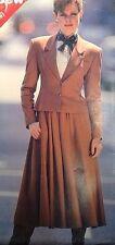 Vtg UC See & Sew 5217 Edwardian Steampunk Suit Princess Jacket Skirt Size 12-16
