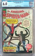 Amazing Spider-Man #3 - 1st Appearance of Doctor Octopus - CGC 6.0