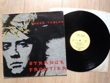 Roger Taylor ‎.. Strange Frontier LP . FRENCH IMPORT .. Queen