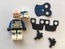 LEGO STAR WARS LEGO MINIFIGURE CAPTAIN REX+PAULDRON+KAMA+GUN CLONE WAR SET 75012
