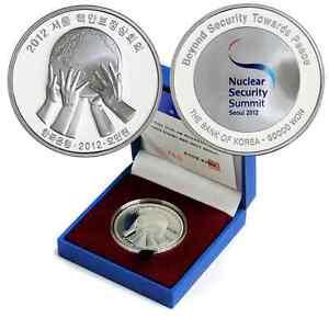 Korea-South 2012, 50000 Won, Seoul Nuclear Security Summit Silver Proof