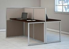 "Cubicle Desk – ""24x60 Straight Desktop"" Office Cubes For 2"