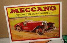 Meccano motor car constructor 01me02 Post card