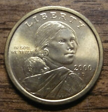 SACAGAWEA 2000 D Dollar Coin Collectible Clad US Circulated Denver #21
