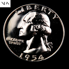 1954 Washington Quarter ~ Gem Proof ~ 90% Silver ~