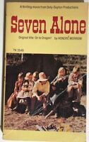 SEVEN ALONE by Honore Morrow (1974) Scholastic pb 1st