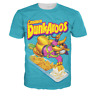 Fashion Womens/Mens Dunkaroos Funny 3D Print Casual short sleeve T-Shirt  QKJ11