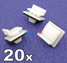 Falda de lado 20x & Clips de recorte de moldeo Repisa-algunos Honda Civic & Jazz 91514SAA003