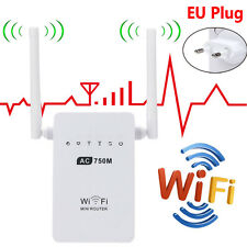 2.4/5G Wireless AC02 Wifi 750Mbps Range EU Plug Router Repeater Extender Booster