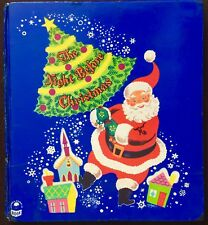 NIGHT BEFORE CHRISTMAS ~ Vintage 1950's Children's Tell-A-Tale Cozy Corner Book