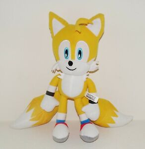 """13"""" TAILS from Sonic The Hedgehog Yellow Plush Stuffed Animal Toy"""