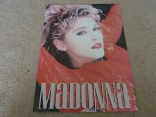 MADONNA - The Virgin Tour - Rare Concert Programme - EX Condition