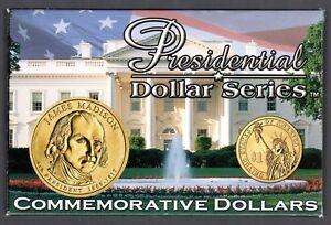 2007 PRESIDENTIAL DOLLAR SERIES JAMES MADISON  SET MUST S@@!!!!!!