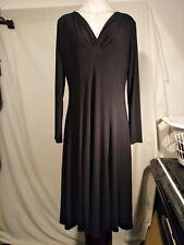 Grace Hill Ladies Stretch Dress in Black Size 14