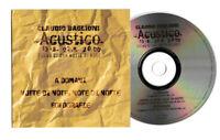 CLAUDIO BAGLIONI. ACUSTICO CD SINGOLO PROMO