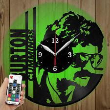 LED Vinyl Clock Burton Cummings LED Wall Art Decor Clock Original Gift 2946
