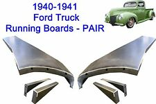 Ford Pickup Truck 1/2 TON Steel Running Board Set 40,41 1940-1941 - Made in USA
