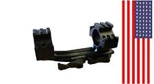 "30mm/25.4mm 1"" Dual Ring QD Quick Release Scope Rail Mount Picatinny Rifle Tool"