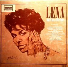 LENA HORNE LP RECORD ONCE IN A LIFETIME 1965