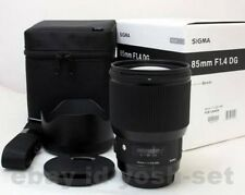SIGMA Art 85mm F1.4 DG HSM Lens for Nikon F 321955