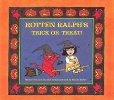 Rotten Ralph's Trick or Treat! by Jack Gantos (1986, Hardcover, Teacher's...