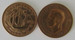 1937-1952 | George VI Half Penny | Choose Your Year | Free Postage + Discounts