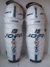 "JOFA 5500 16"" 41cm Ice Hockey Shin Pads Guards NHL ASD"