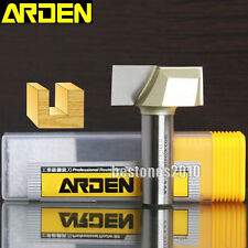 """ARDEN  Bottom Cleaning Router Bits 1/2*1-1/8-1/2 Shank 1/2×1-1/8"""" Router Bit Lot"""