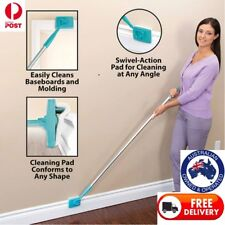 Baseboard Extendable Microfiber Duster Cleaning Buddy 360 Multi-Use Home Clean