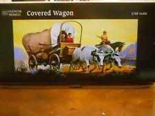 GLENCOE/ADAMS COVERED WAGON MODEL KIT #5402, 1/48TH SCALE, 0 GAUGE,NEW IN BOX