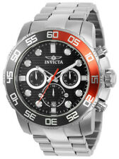 Invicta Pro Diver 22230 Men's Black Round Analog Chronograph Date Watch