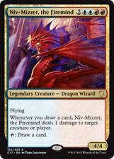 NIV-MIZZET, THE FIREMIND Commander 2017 MTG Gold Creature — Dragon Wizard Rare
