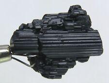 26 CARATS BLACK TOURMALINE CRYSTALS CLUSTER  PAKISTAN,  X-62