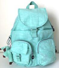 Kipling Firefly Backpack Purse School Travel Shoulder Bag Seafoam Green Mint NWT