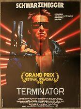 TERMINATOR Affiche Cinéma / Movie Poster ARNOLD SCHWARZENEGGER