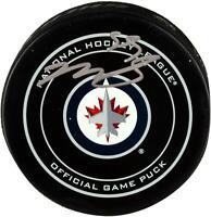 Mark Scheifele Winnipeg Jets Signed Official Game Puck - Fanatics