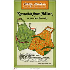 "MARY MULARI DESIGNS ""REVERSIBLE APRON"" Sewing Pattern"