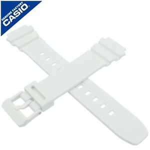 Genuine Casio Watch Strap Band for W-215H-7AV W 215H 215 WHITE 10435868