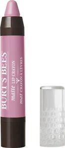 (2) Burt's Bees 100% Natural Moisturizing Matte Lip Crayon Carolina Coast (423)