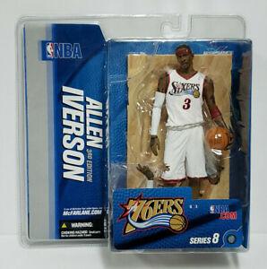 ALLEN IVERSON (3rd Ed.) PHILADELPHIA 76ERS NBA McFarlane Series 8 Action Figure