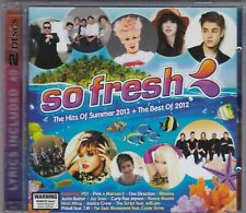 So Fresh - The Hits Of Summer 2013 + The Best Of 2012 - CD (Brand New) 2 x CD