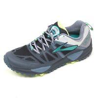C5496 sneaker donna BROOKS CASCADIA 10 scarpa grigio scuro shoe woman