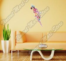 "Parrot Tropical Bird Lovebird Abstract Wall Sticker Room Interior Decor 16""X25"""