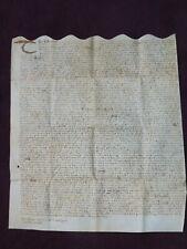 1674 HUGE VELLUM INDENTURE FROM REIGN OF KING CHARLES II TAMWORTH WARWICKSHIRE