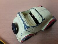 Vintage 1950s DIECAST 'Noddy and His Car Morestone ENGLAND for RESTORATION